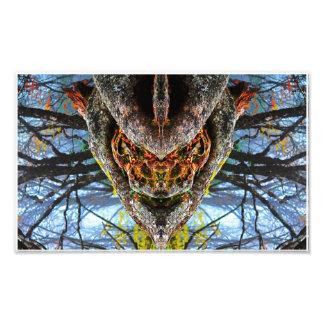 Wood Beast Photo Print
