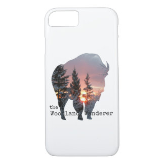 Wood Bison Buffalo iPhone 7/8 iPhone 8/7 Case