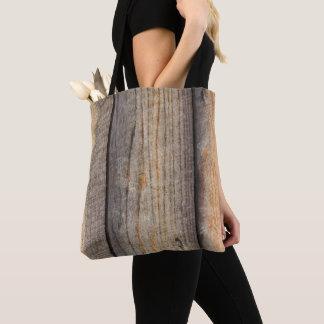 Wood Board Design Tote Bag