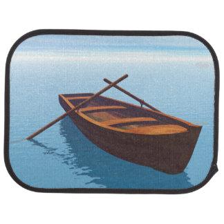 Wood boat - 3D render Car Mat