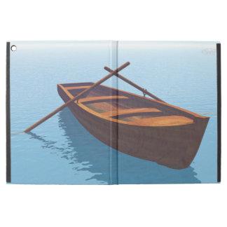 "Wood boat - 3D render iPad Pro 12.9"" Case"