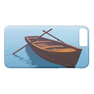 Wood boat - 3D render iPhone 8 Plus/7 Plus Case