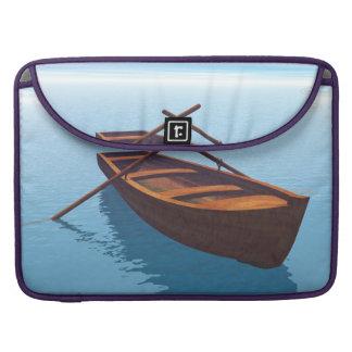 Wood boat - 3D render Sleeve For MacBook Pro