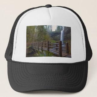 Wood Bridge at Silver Falls State Park Trucker Hat