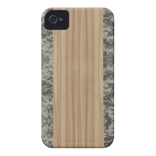 Wood & Camo iPhone 4 & 4S Case Case-Mate iPhone 4 Cases