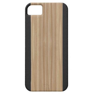 Wood & Carbon Fiber iPhone 5 Case