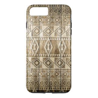 Wood Carving (Aztec Pattern) iPhone 8 Plus/7 Plus Case