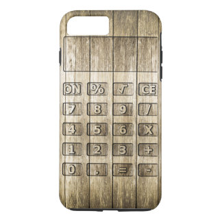 Wood Carving (Calculator) iPhone 8 Plus/7 Plus Case