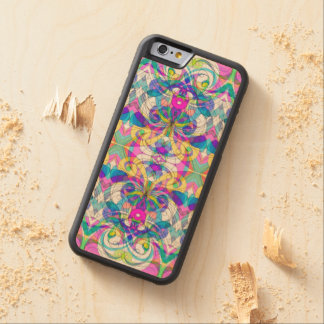 Wood Case iPhone 6 Indian Style Carved® Maple iPhone 6 Bumper