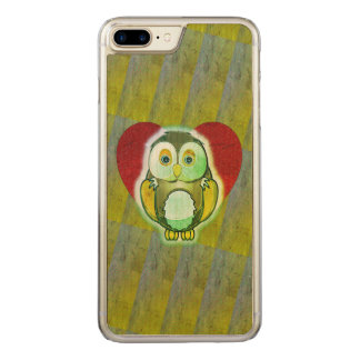Wood Case - Owl for iPhone