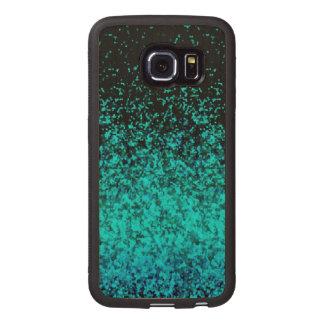 Wood Case Samsung Galaxy S6 Edge Glitter Dust