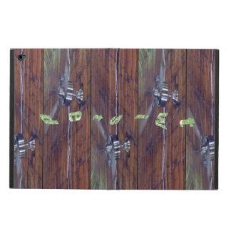 Wood Ceiling, Chrome Fans