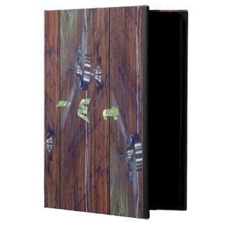 Wood Ceiling, Chrome Fans Case For iPad Air