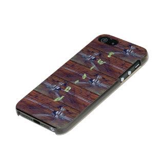 Wood Ceiling, Chrome Fans Incipio Feather® Shine iPhone 5 Case