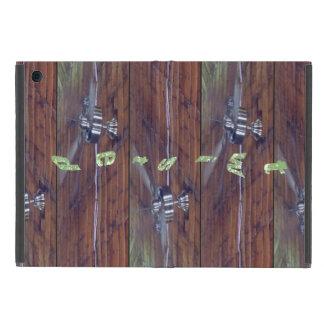 Wood Ceiling, Chrome Fans iPad Mini Case