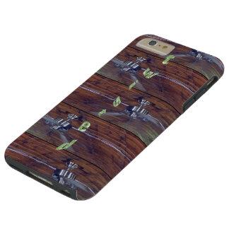 Wood Ceiling, Chrome Fans Tough iPhone 6 Plus Case