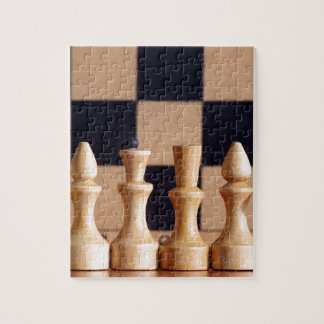 Wood Chess Pieces Jigsaw Puzzles