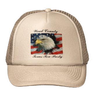 Wood County Texas Tea Party Hats