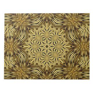 Wood Craft Mandala Notepads