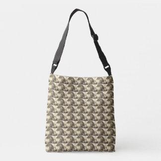 Wood Custom All-Over-Print Cross Body Bag