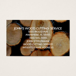 Wood Cutting and Splitting Business