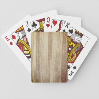 Wood Design Playing Cards