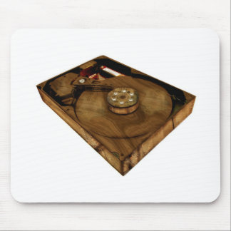 Wood Drive Mouse Pad