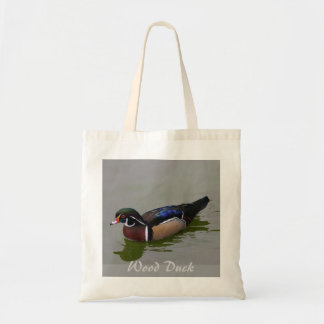 Wood Duck Budget Tote Canvas Bags