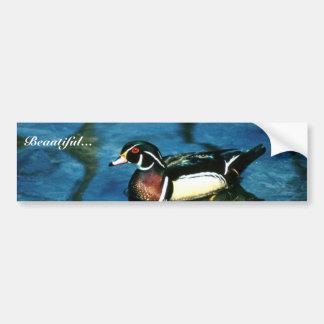 Wood Duck Bumper Sticker