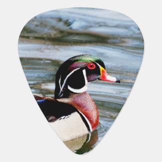 Wood Duck Guitar Pick
