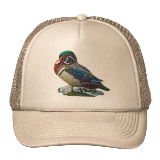 Wood Duck Trucker Hats