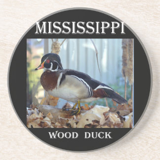 Wood Duck (Mississippi) Drink Coaster