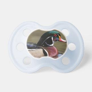 wood duck pacifier
