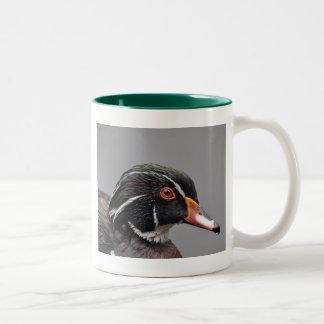 Wood Duck Two-Tone Mug Green