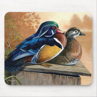 Wood Ducks 2 - Mouse Pad