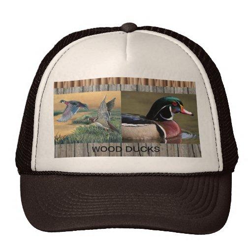 wood ducks cap hats