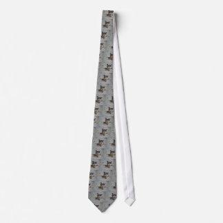Wood Ducks Gray Tie