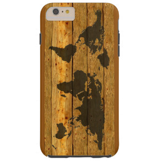 WOOD EARTH IPHONE TOUGH iPhone 6 PLUS CASE