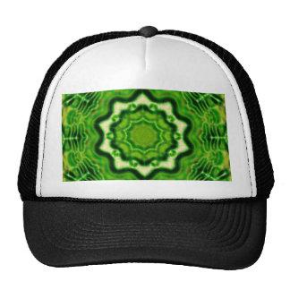 WOOD Element kaleido pattern Cap