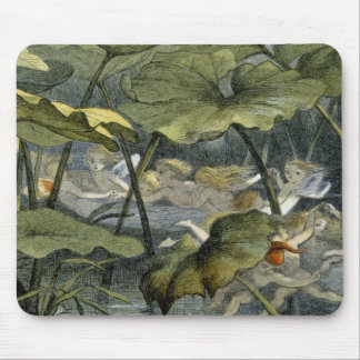 Wood Elves at Play, illustration from 'In Fairylan Mouse Pad