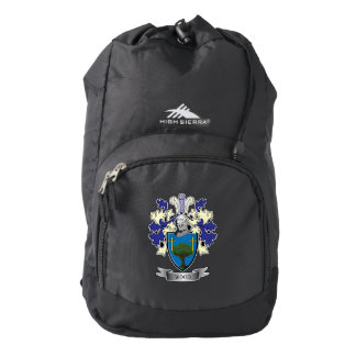 Wood Family Crest Coat of Arms Backpack