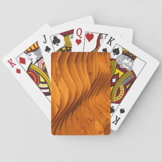 Wood Fence in Seattle Playing Cards