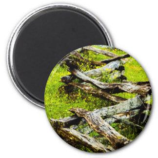 Wood_Fence.JPG 6 Cm Round Magnet