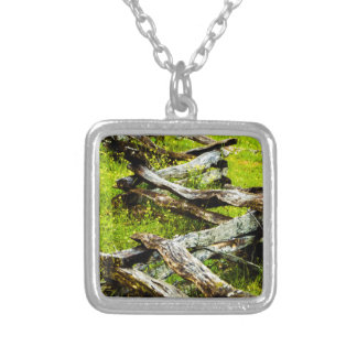 Wood_Fence.JPG Silver Plated Necklace