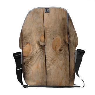 Wood Fence Messenger Bags