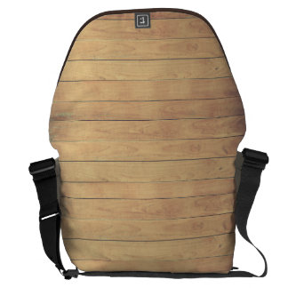 wood fence messenger bags