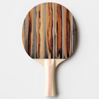 Wood Fence Texture Cool Unique Ping Pong Paddle