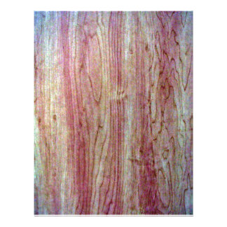 Wood fine grain texture personalized flyer