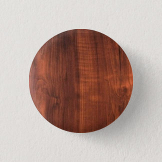 Wood Finish Pattern Wooden Oakwood Teakwood 3 Cm Round Badge