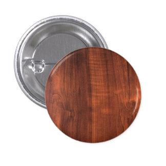 Wood Finish Pattern Wooden Oakwood Teakwood 3 Cm Round Badge
